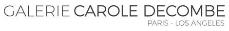 Logo Galerie Carole Decombe